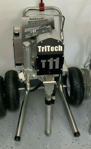 Tritech T11 Airless Paint Sprayer Free Extra Hose And Gun 250 00 Value