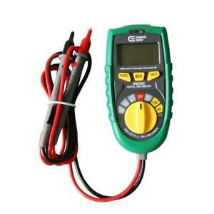 Commercial Electric Pocket Size Auto Ranging Multimeter