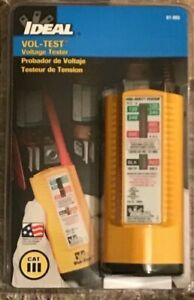 Ideal Vol test 61 065 Voltage Tester 600vac 600vdc
