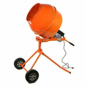 Cement Mixer W Stand Tall Concrete Mixer 5cuft