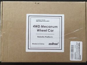 Osoyoo Mecanum Wheel Robot Car Chassis 4wd 80mm Dc12v Motor Smart Robot Mini Fou