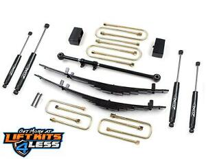 Zone Offroad F11 4 Suspension Lift Kit 2000 2005 Ford Excursion 4wd