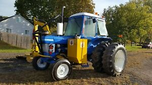 6610 New Holland Ford Tractor W tiger Mowmaster Rotary Mower Boom