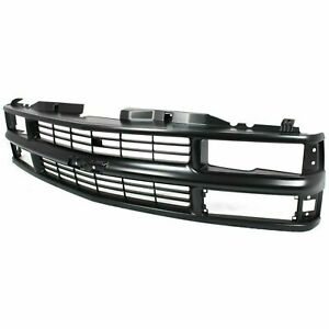 New Black Fits Chevrolet 94 00 K1500 C1500 Limited Grille Assembly Gm1200239