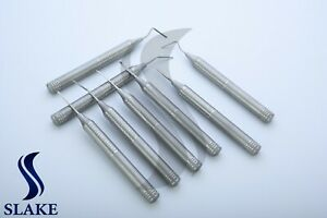 Dental Flex Periotome Extraction Screw Periodontal Elevator Luxating Instruments