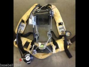 Scott 4500psi Industrial Air Pack Scba Harness 4 5 Air Pak very Nice Condition