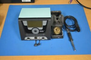 Weller Wx2 Digital Dual Channel Soldering Station W Wx120 Pencil 200w Used