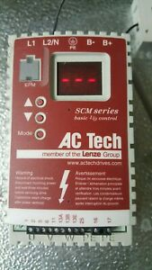 Ac Tech Variable Speed Drive sm004s Tested