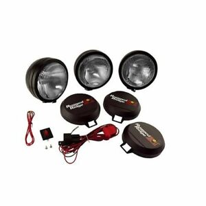 Rugged Ridge Hid Off Road Lights 35w Round 6 Dia Clear Lens 1520561