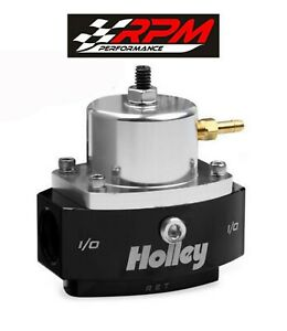 Holley 12 880 Return Fuel Pressure Regulator 6an Boost Reference Efi To Carb