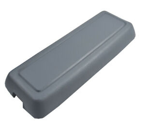 1979 1986 Ford Mustang Light Grey Gray Center Console Armrest Lid Top Cover Pad