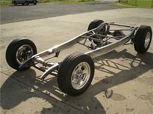 1932 Ford Complete Chassis Pete Jakes Dropped Axle Disc Brake Front Rear