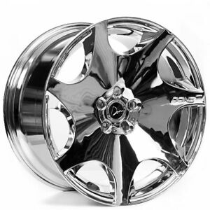 20 Staggered Donz Wheels Merlino Chrome Rims Fit Cadillac Deville