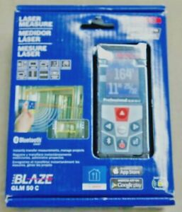 Bosch Glm 50c Professional Laser Distance Measure With Bluetooth New In Box