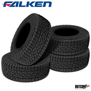 4 X Falken Wild Peak A T3w Lt245 75r16 E 120 116s All Terrain Any Weather Tires
