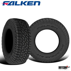 2 X Falken Wild Peak A T3w 255 65r17 114t Rf Rbl All Terrain Any Weather Tires