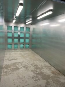 8x8x16 Powder Coating Spray Booth Paint Booth Free Shipping