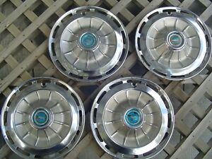 1962 62 Chevrolet Chevy Impala Ss Hubcaps Wheel Covers Antique Vintage Classic