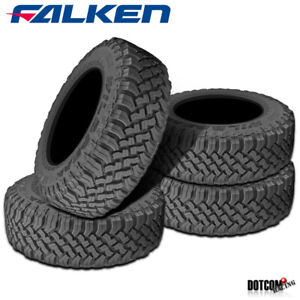 4 X New Falken Wild Peak M T Lt33x12 50r20 E 114q Toughest All Terrain Mud Tires
