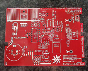 Hakko 936 Original Soldering Station Pcb By Moutoulos