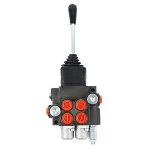 Hydraulic Directional Control Valve Tractor Loader W Joystick Adjustable