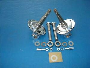 Pete Jakes 1104f kc 1937 1941 Early Ford Chrome Spindles 1928 48 Made In Usa