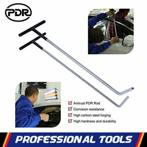 Pdr Paintless Dent Removal Spring Steel Puller Rods Repair Hail Damage Tools Kit