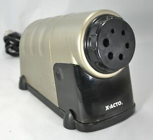 X acto Model 41 Heavy Duty Electric Pencil Sharpener 3 Wire Cord