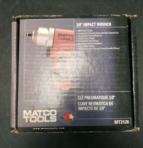 Matco Mt2120 Air Impact Wrench 3 8 Drive 25 400 Ft Lbs 600