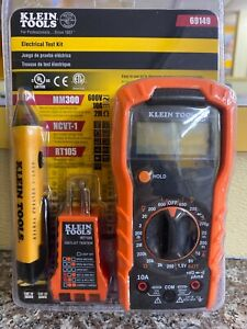 Klein Tools 69149 Electrical Test Kit Brand New