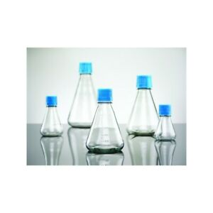 Bd Falcon 2000ml Erlenmeyer Tissue Culture Flask Baffled Base Case Of 6