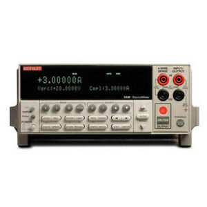 Keithley 2420 Sourcemeter smu Instrument W gpib Rs 232 3a