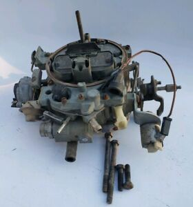 17084208 Rochester Q jet Carburetor Gm Vintage Carb With Bolts