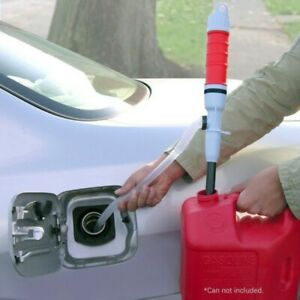 Electric Pump Siphon Hose Handheld Car Water Petrol Fuel Liquid Transfer Pump