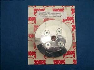 Zoops 6011 Svo Ford Polished Aluminum Water Pump Pulley M8501 E351 2 Groove