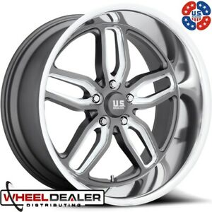 22 Staggered Us Mags C Ten U129 Wheels Rims For 5 Lug C10 Truck 5x5 Swb Lwb