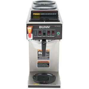 Bunn Cwtf dv 12 Cup Dual Volt Automatic Coffee Brewer With 3 Warmers 12950 0410