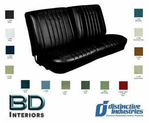 1968 Chevy Chevelle Front Bench Seat Upholstery By Distinctive Ind Any Color