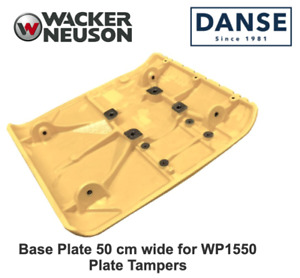 Wacker Oem Wp1550 Baseplate 5000115587 50cm Wide For Walk behind Compactors