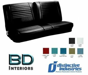 1967 Chevy Chevelle Front Bench Seat Upholstery By Distinctive Ind Any Color