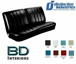 1966 Chevy Chevelle Front Bench Seat Upholstery By Distinctive Ind Any Color