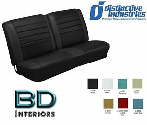 1965 Chevy El Camino Front Bench Seat Upholstery By Distinctive Ind Any Color