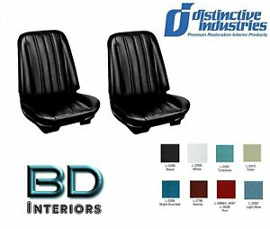 1966 Chevy Chevelle Front Bucket Seat Upholstery By Distinctive Ind Any Color