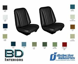 1968 Chevy Chevelle Front Bucket Seat Upholstery By Distinctive Ind Any Color