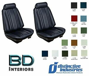 1969 Chevy Chevelle Front Bucket Seat Upholstery By Distinctive Ind Any Color
