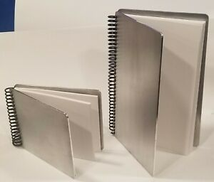 Aluminum Notebook Notepad Daily Planner Log Book Refills