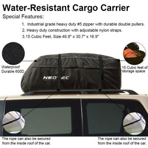 Waterproof Roof Top Cargo Carrier Travel Car Storage Bag