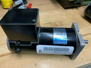 Leeson 90vdc 1725 Rpm 1 2hp 1 2 Shaft Motor Taig