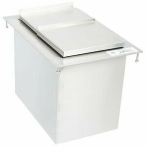 18 x12 x11 15 16 Nsf Stainless Steel Commercial Bar restaurant Drop in Ice Bin