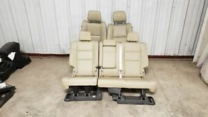 2018 Jeep Grand Cherokee Seats Front Rear Left Right Tan Leather Dual Power Oem
